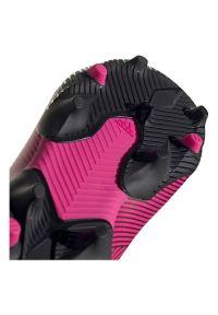 Adidas - Buty dla dzieci do piłki nożnej adidas Nemeziz 19.3 FG F99953. Zapięcie: zamek. Materiał: materiał, syntetyk. Szerokość cholewki: normalna