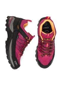 Trekkingi CMP - Rigel Low Wmn Trekking Shoes Wp 3Q54456 Bouganville/Goji 06HE. Kolor: różowy. Materiał: materiał. Szerokość cholewki: normalna
