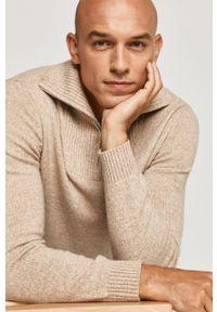 Sweter medicine casualowy, krótki, na co dzień, z długim rękawem