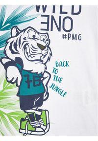 T-shirt Primigi w kolorowe wzory, sportowy