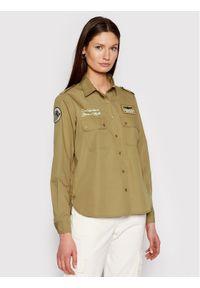 Aeronautica Militare Koszula 211CA1185DCT2695 Zielony Regular Fit. Kolor: zielony