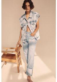 Proste jeansy mango