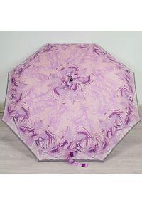 Parasol składany DOPPLER PA115 różowy. Kolor: różowy. Materiał: materiał