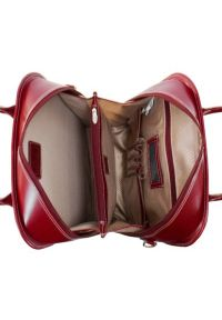 Czerwona torba na laptopa MCKLEIN klasyczna