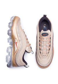 Złote sneakersy Nike Nike Air Max, z cholewką #7