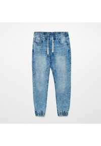 Niebieskie jeansy Cropp