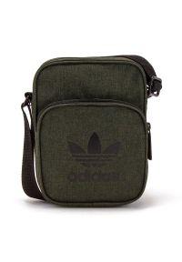 Zielona torba sportowa Adidas melanż