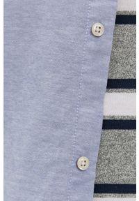 Jack & Jones - Koszula. Okazja: na co dzień. Typ kołnierza: button down. Kolor: fioletowy. Materiał: tkanina. Wzór: gładki. Styl: casual
