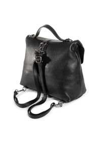 Czarny plecak Creole elegancki