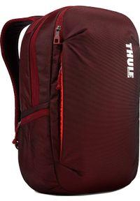 Czerwony plecak na laptopa THULE