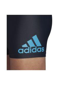 Adidas - Kąpielówki męskie adidas Fit BX FI2840. Materiał: nylon, dzianina, materiał, elastan. Długość: długie. Wzór: jednolity, gładki #3