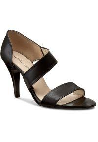 Czarne sandały Baldaccini eleganckie