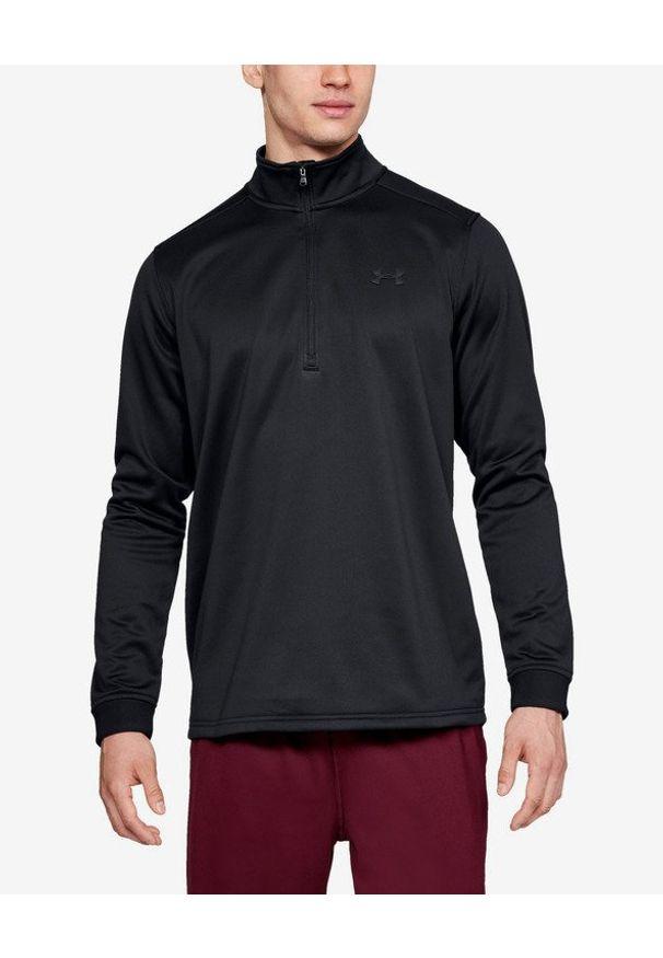 Czarna bluza Under Armour długa, w kolorowe wzory