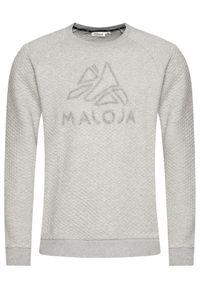 Maloja Bluza SihlM 30516-1-7096 Szary Regular Fit. Kolor: szary