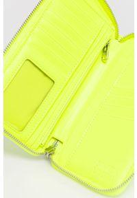 Żółty portfel Bimba y Lola gładki
