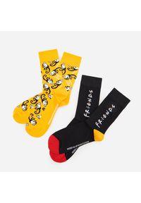Żółte skarpetki Reserved