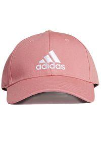 Adidas - adidas Baseball Cap > GM6272. Materiał: tkanina, bawełna. Wzór: ze splotem. Styl: klasyczny