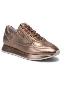 Złote buty sportowe HÖGL z cholewką, na co dzień
