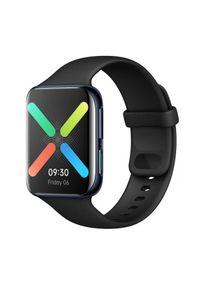 Czarny zegarek OPPO smartwatch