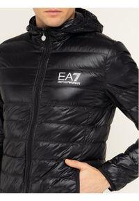 Czarna kurtka puchowa EA7 Emporio Armani #6