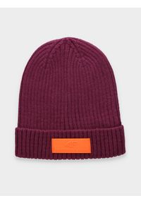 Czerwona czapka zimowa 4f