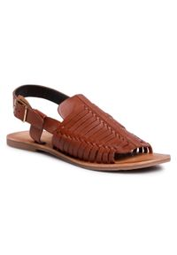 Brązowe sandały Sergio Bardi casualowe, na co dzień