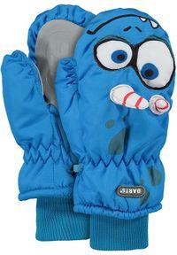 Barts - BARTS Rękawice dziecięce Nylon Mitts 3d BLUE. Materiał: nylon