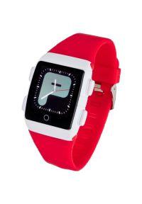 Czerwony zegarek GARETT smartwatch, młodzieżowy