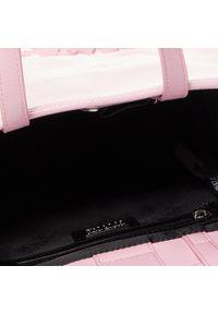 Różowa torebka klasyczna Versace Jeans Couture klasyczna