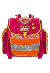 Różowy plecak Scout