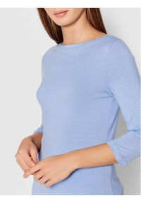 Vero Moda Bluzka Panda 10233477 Niebieski Regular Fit. Kolor: niebieski