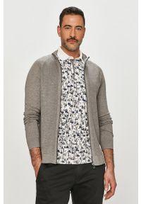 JOOP! - Joop! - Bluza bawełniana. Kolor: szary. Materiał: bawełna. Długość rękawa: raglanowy rękaw