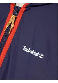 Niebieska kurtka przejściowa Timberland #3
