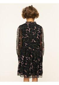 Czarna sukienka wizytowa Emporio Armani