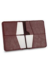 Czerwony portfel Solier