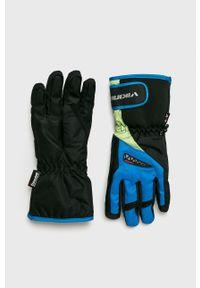 Viking - Rękawiczki. Kolor: niebieski. Materiał: tkanina