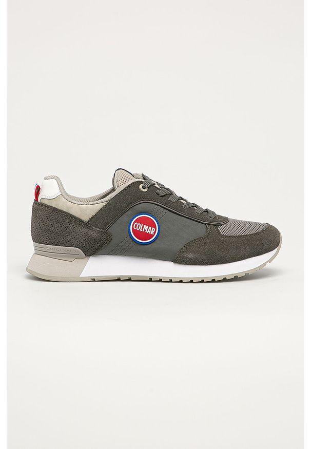 Colmar - Buty. Nosek buta: okrągły. Zapięcie: sznurówki. Kolor: szary. Materiał: guma, syntetyk, materiał, skóra ekologiczna, zamsz. Szerokość cholewki: normalna