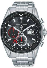 Zegarek Pulsar Zegarek Pulsar Solar męski chronograf PZ6027X1 uniwersalny