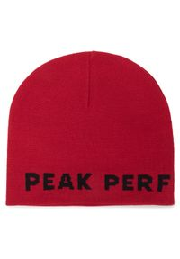 Czarna czapka Peak Performance