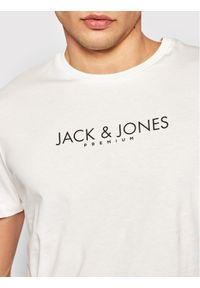 Jack&Jones PREMIUM T-Shirt Blagabriel 12188739 Beżowy Regular Fit. Kolor: beżowy
