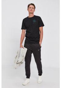 G-Star RAW - G-Star Raw - T-shirt bawełniany. Okazja: na co dzień. Kolor: czarny. Materiał: bawełna. Wzór: nadruk. Styl: casual