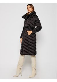 Czarna kurtka zimowa Geox