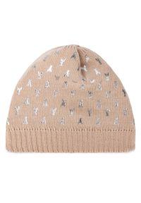 Beżowa czapka zimowa Patrizia Pepe