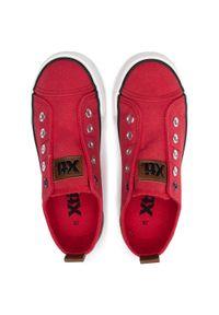 Czerwone półbuty Xti