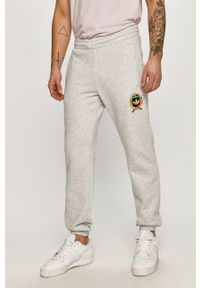 Szare spodnie dresowe adidas Originals gładkie