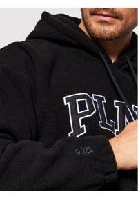 PLNY Textylia Polar Stanford PT-BL-HO-00180 Czarny Regular Fit. Kolor: czarny. Materiał: polar