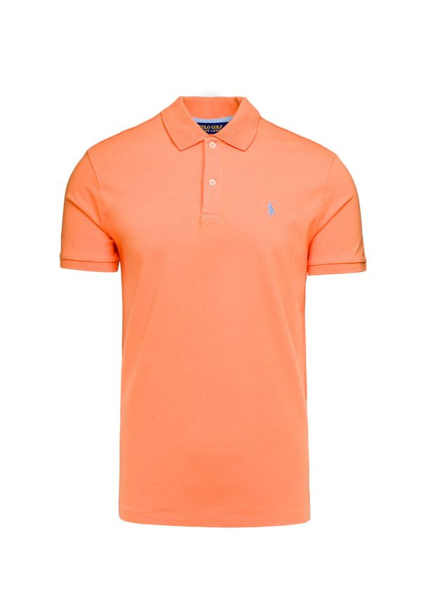 Koszulka polo Polo Golf Ralph Lauren z golfem, sportowa, melanż