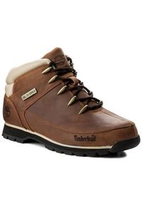 Srebrne buty zimowe Timberland z cholewką