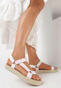 Born2be - Różowe Sandały Lephalphia. Kolor: różowy