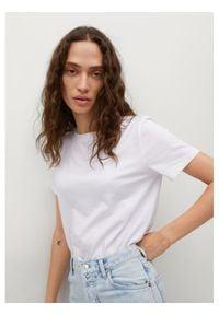mango - Mango T-Shirt Chalaca 17050100 Biały Regular Fit. Kolor: biały